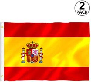 bandera española mediana