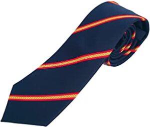 corbata con la bandera española